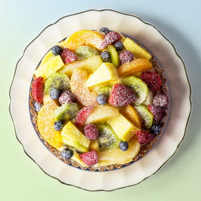 Our FamousFruit Tarts