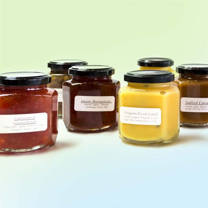 Preserves and moreGourmet Goodies