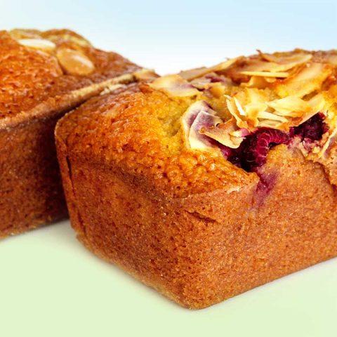 Flourless Financier Bar Cake (GF)