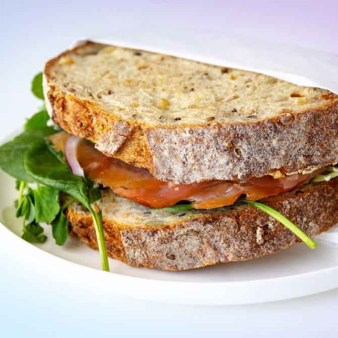 Sandwich Smoked Salmon 5637_